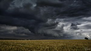 That long black cloud is comin' down by kriskeleris