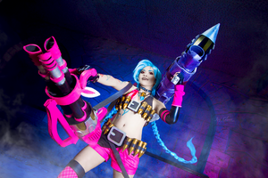 League of Legends: Jinx' Friends by JoviClaire
