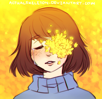Wilting flowers by ActualSkeleton