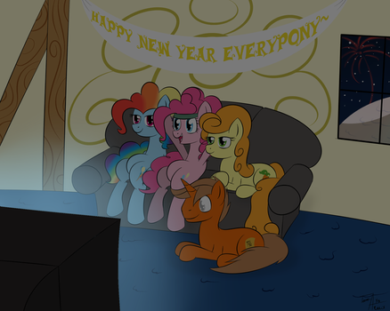 Happy New Years~ by Terra-Aquis