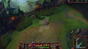 Scorched Earth Renekton - Stream Overlay by lol0verlay
