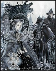 Bloodborne by Hollow-Moon-Art