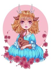 Lia with Rabbit by Dar-chan