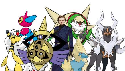 Pewd's Pokemon Team by DispoableButtons