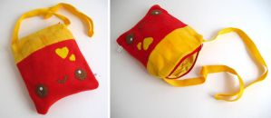 French Fry bag by kickass-peanut