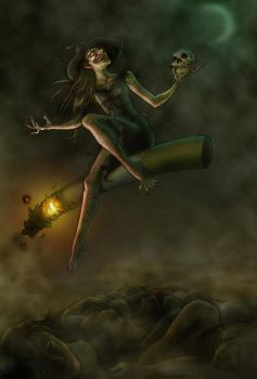 Witch Final Big Witch by vivi-the-great