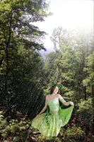 Summer Forest Dryad by missiriswolfe