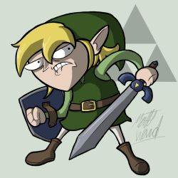 The Name's Link by wibblethefish