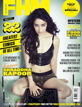Shraddha Kapoor photoshoot for FHM Magazine by 24xentertainment