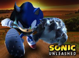 Sonic Unleashing by Assasserik