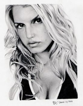 Jessica Simpson no. 2 by saraly