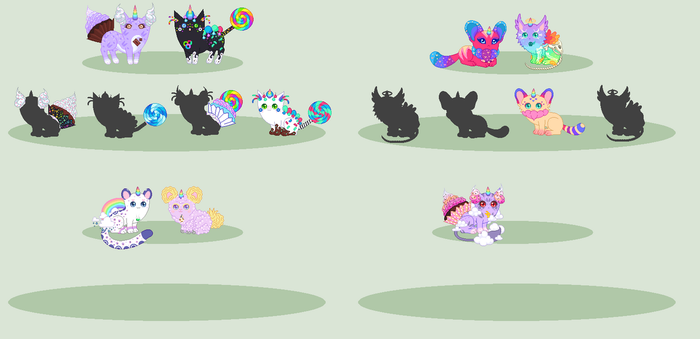 Breeding Batch With Candi-Kii - WIP by xavs-pixels