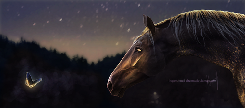 C: Here Comes The Night Time II by impassioned-dreams