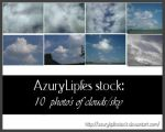 clouds pack by AzurylipfesStock