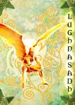 Lughnasadh greeting card - front cover by LilipilySpirit
