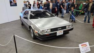 DeLorean Time Machine by EgonEagle