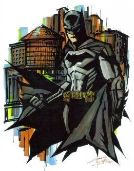 Marker : Gothams Guardian by KidNotorious