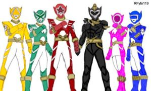 Power Rangers Alien Force 2 by RFyle119