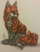 The Fox by Wading-Cricks