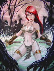 Red Sonja by Zuleta