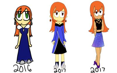 Versions of Fay by PikaLuigiGirl