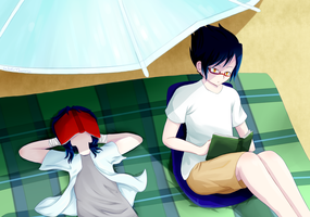 [FUNSUN EVENT] It's Too Hot Out by WolfsMoonrise