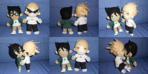 HS - Dirk x Jake - plushies by ChibiEdo