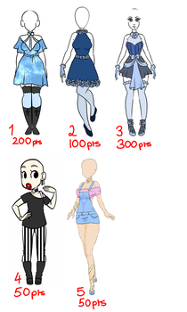 Outfit Adopts [closed] by Blithe-Adopts