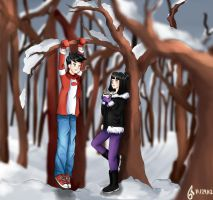 Everyone Has a Ghost Sense in Winter by chrissienah