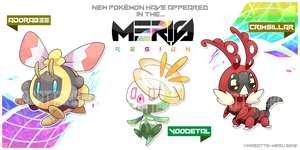 Meris Region Pokemon 2 by Wabatte-Meru