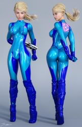 Character Reference Samus by tiangtam