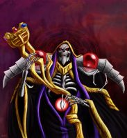 The Sorcerer King, Ainz Ooal Gown by zachjacobs