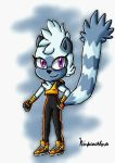 Tangle the Lemur by ninpeachlover