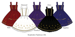 Resplendent Nightmare JSK Designs by MissChubi
