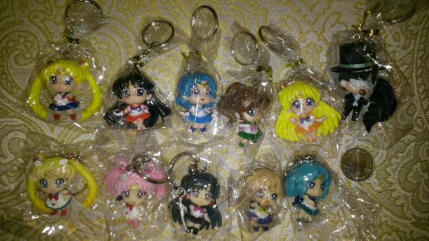 Sailormoon Keychain Set - Free Raffle by EMReven