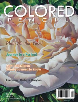 COLORED PENCIL Magazine - May 2014 by ColoredPencilMag