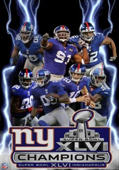 Super Bowl Champion Giants by IGMAN51