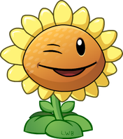 Sunflower Wink by Lolwutburger