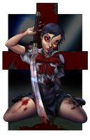 Saya from Blood Plus by Dominic-Marco