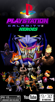 PlayStation Calamity Of Heroes by AnimeCitizen