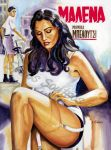 Malena Monica Belluci Movie Poster Painting by SpirosSoutsos