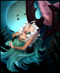 Darkstalkers - Morrigan Aensland by lucidsky