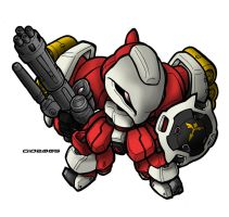 SD Quess' Jagd Doga by MobileSuitGio