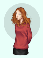 Amy Pond by Naomi024