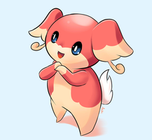 Audino by AzureBladeXIII