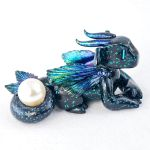Deep Sea Pearl Diver Dragon by HowManyDragons