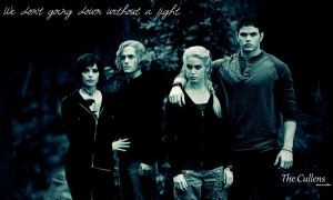 The Cullens - fight by b-r-i-n-a
