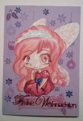 Christmas Card - Candy Fairy by redfoxlady