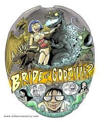 Bride Of Godzilla by DadaHyena