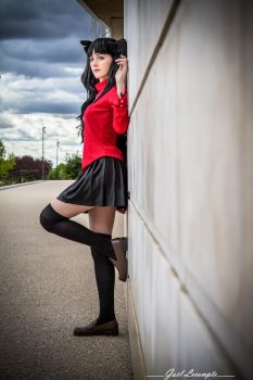 Rin Tohsaka - Fate Stay Night Cosplay by Tinu-viel